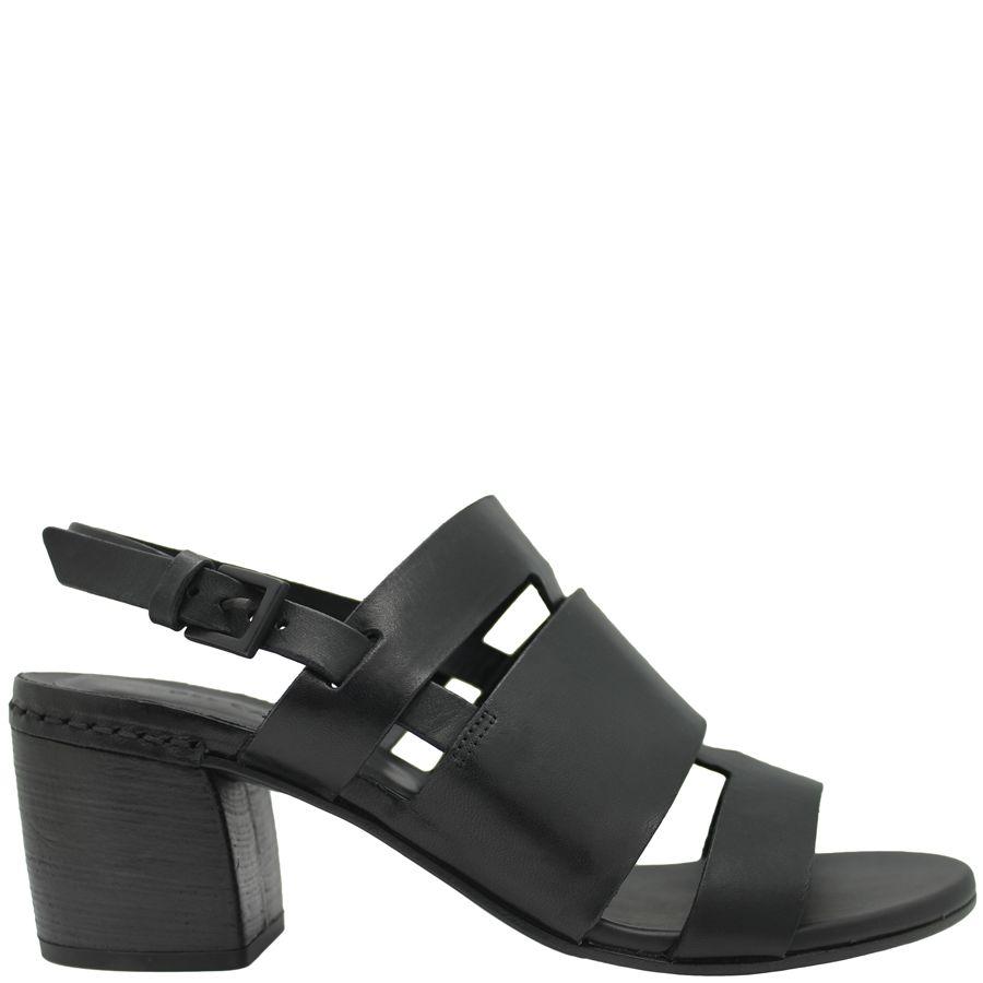 Del Carlo DelCarlo Black Sling Back Sandal 5070