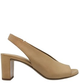 Del Carlo DelCarlo Sand Sling Back With Wrapped Leather Heel 5080