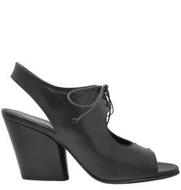 Halmanera Halmanera Black Lace-Up Sandal Hellam