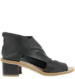 Officine Creative OfficineCreative Black Back Zipper Geometric Heel Dafne