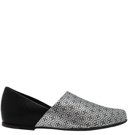 Ink Ink Black Silver Slip On Shoe 4100
