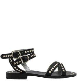 Fiorentini+Baker Fiorentini+Baker Black Stud Ankle Strap Sandal Finny