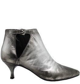 Strategia Strategia Silver Side Buckle Point Toe Boot 4927