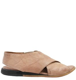 Moma Moma Blush Criss Cross Flat Sandal 2562