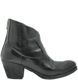 Officine Creative OfficineCreative Black Back Zip Boot Gadot
