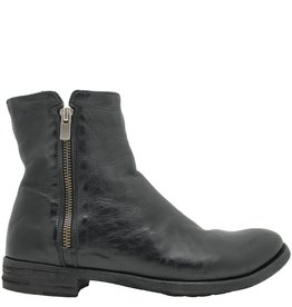 Officine Creative OfficineCreative Black 2-Zipper Fur Lined Boot Raggi