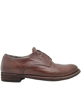 Officine Creative OfficineCreative Mahogany No Lace Fur Lined Shoe Sano
