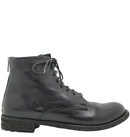 Officine Creative OfficineCreative Black Lace-Up With Back Zip Sgura