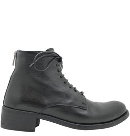 Officine Creative OfficineCreative Black Lace-Up Boot Galia