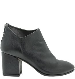 Officine Creative OfficineCreative Black Ankle Boot With Back Zip Paji