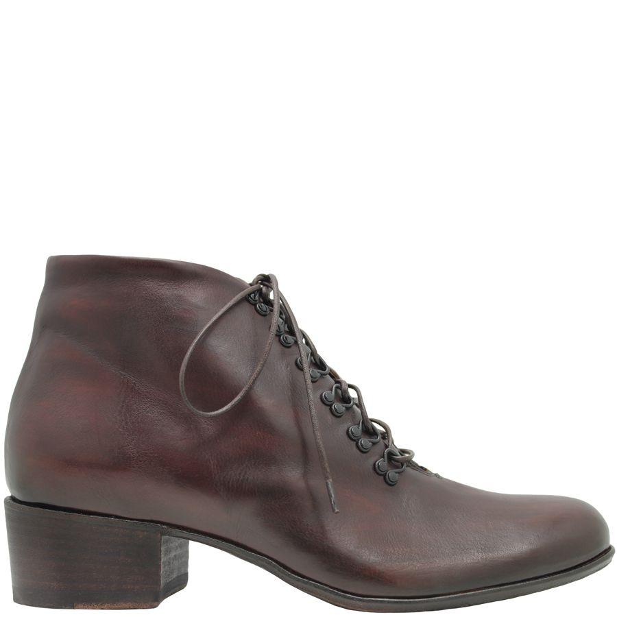 Ink Ink Brown Eyelet Boot 4331