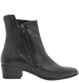 Ink Ink Black Nappa Outside Zipper Boot 4340