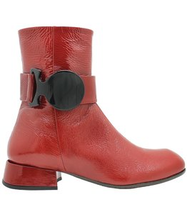 Ixos Ixos Pomegranate Patent Boot 7032