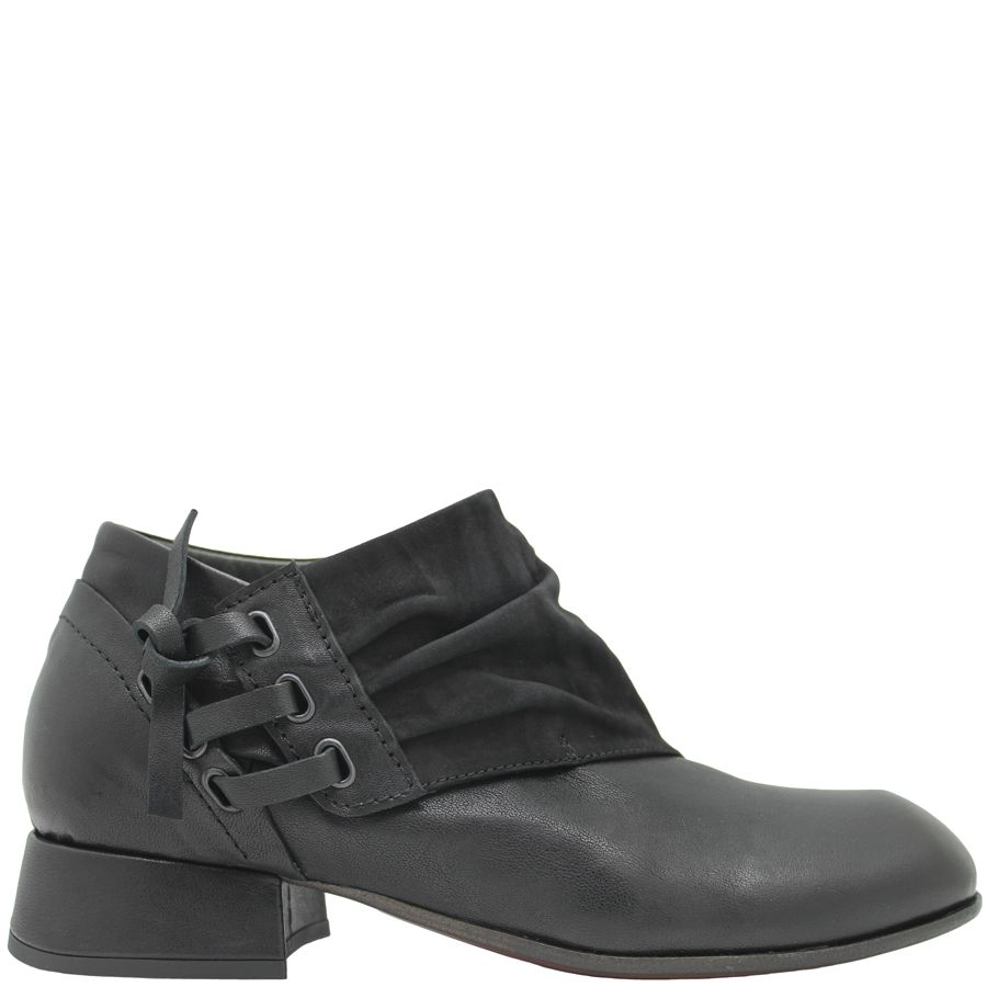Ixos Ixos Black Asymmetric Shoe 7035