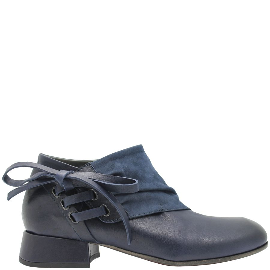 Ixos Ixos Lapis Blue Asymmetric Shoe 7035