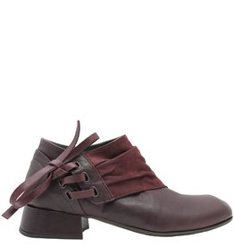 Ixos Ixos Burgundy Asymmetric Shoe 7035