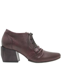 Ixos Ixos Burgundy Lace-Up Western 7046