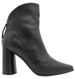 Halmanera Halmanera Black Nappa Fold Top High Heel Boot Anjee