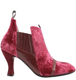 Ixos Ixos Rasberry Velvet Chelsea Dress Boot 7061