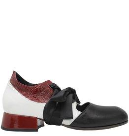 Ixos Ixos Red Multi Lace-Up Shoes 7066