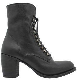 Fiorentini+Baker Fiorentini+Baker Black Calf Lace-Up Side Zip Etsi