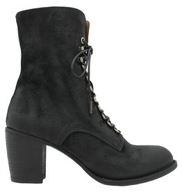 Fiorentini+Baker Fiorentini+Baker Black Suede Lace-Up Side Zip Etsi