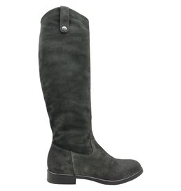 Now Now Grey Suede Riding Boot 5140