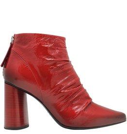 Halmanera Halmanera Red Crinkle Patent Red Heel Aria