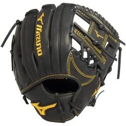 Mizuno Pro Limited Edition GMP500BK Infield Glove:  Serial 001 Black