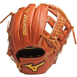 Mizuno Pro Limited Edition GMP600 Infield Glove Peanut Right Hand Throw