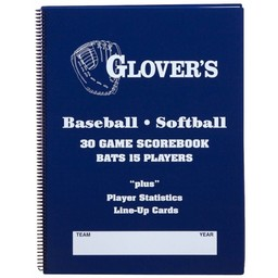 Glover's 30 Game Scorebook:  BB-106