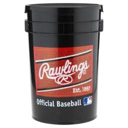 Rawlings Ball Bucket w/ Bagger Sports Logo