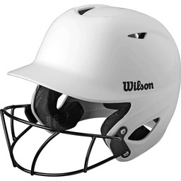 Wilson Collegiate 2.0 Batting Helmet W/Facemask WTA5418