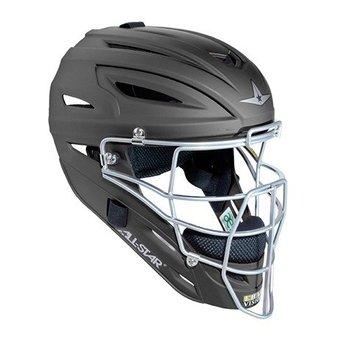 All Star System Seven Matte Finish Catchers Helmet Youth - MVP2510M