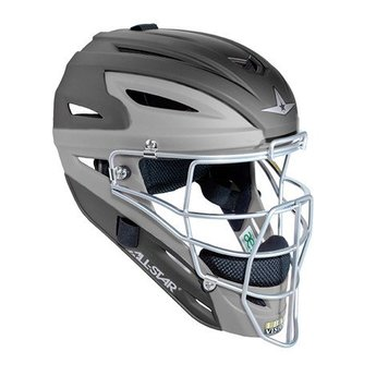 All Star System Seven Matte Two Tone Catching Helmet Youth - MVP2510MTT