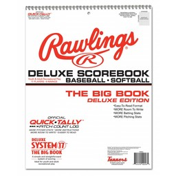 Rawlings Deluxe System-17 Baseball Scorebook: 17SBDLX