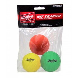 Rawlings Hit Trainer Balls ( 3 pack )