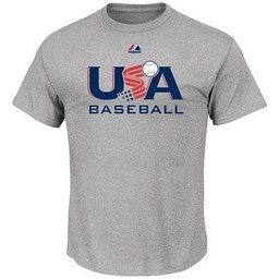 Majestic USA Baseball Tee