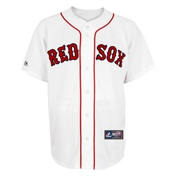 Majestic Red Sox Replica Home Jersey