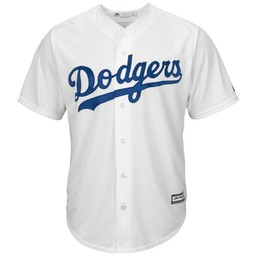Majestic Replica Home Dodgers Jersey