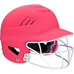 WORTH WHL60FG NEON MATTE FINISH BATTING HELMET  WITH FG