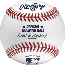 Rawlings Official MLB Pitching Machine Baseball (Dozen) - ROPM