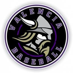 Valencia Baseball Window Decal