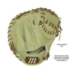 "Marucci Honor the Game Series 32.50"" Catcher's Mitt Reg CM/MS"