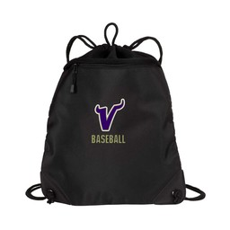Valenica Baseball Port Authority - Cinch Pack with Mesh Trim - BG810