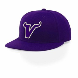 Valencia Baseball Richardson PTS65 Fitted - Purple Cap