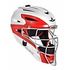 All Star All Star System Seven High Gloss Two Tone Catching Helmet Fastspitch - MVP2510WTT