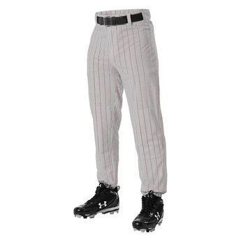 Alleson Youth Pinstripe Baseball Pants: 605PINY