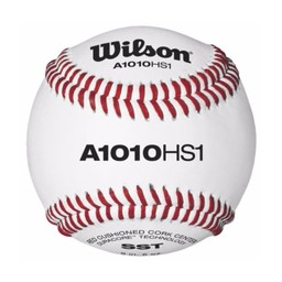 Wilson Official High School Baseball WTA1010BHS1SST - 1 Dozen