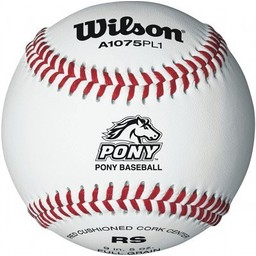 Wilson Pony Regular Season Play Baseballs WTA1075BPL1 - 1 Dozen